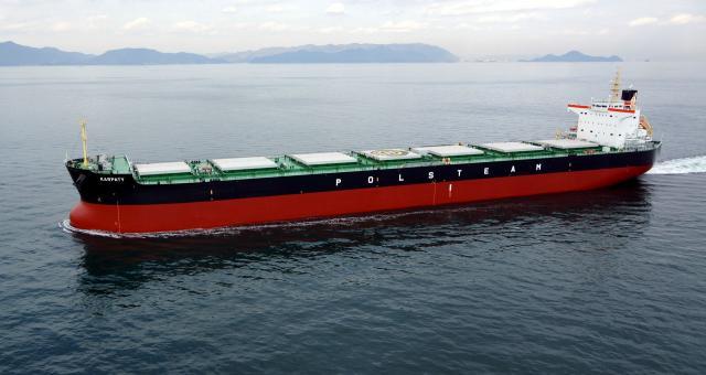 """""""Karpaty"""" to dziś największy statek w rękach polskich armatorów."""