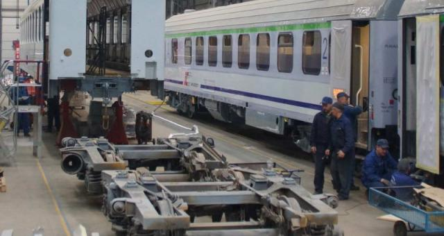 Modernizacja wagonów dla PKP Intercity.