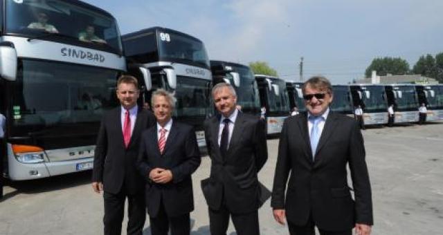 Przed rokiem firma też sprowadziła nowe autokary z fabryki w Ulm na Euro 2012.