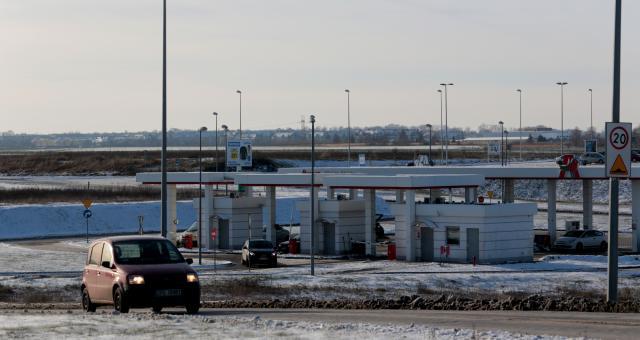 Stacja paliw ze względu na budowę Ikei i drogi ma być przesunięta.
