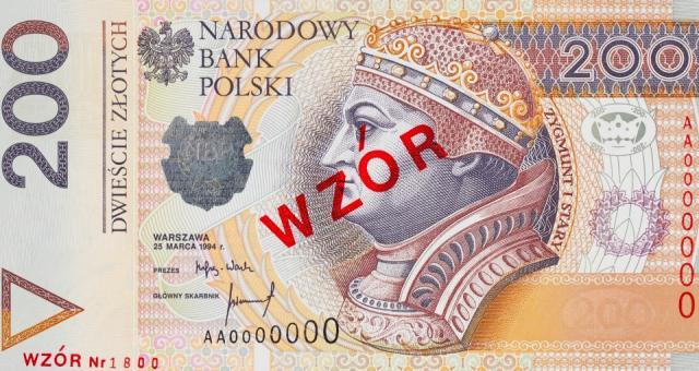 Jak zapewnia NBP, projekt graficzny banknotu nie zmienił się