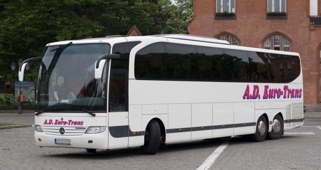 W autobusach A.D Euro-Trans jest darmowy internet, barek i wc.