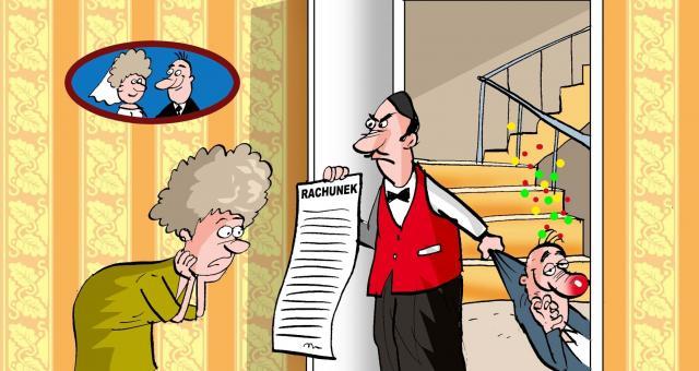 Aby w przyszłości nie odpowiadać za długi zaciągnięte przez małżonka wystarczy znieść wspólnotę majątkową. Fot. Archiwum