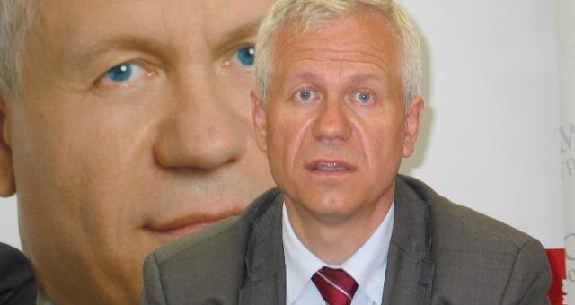 - Polska musi zachować swoją narodową walutę – mówi Marek Jurek, lider Prawicy Rzeczypospolitej. Fot. Norbert Ziętal