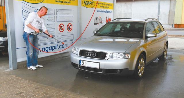 Myjnia, otwarta niespełna dwa tygodnie temu przez Polmozbyt Plus, kosztowała 900 tysięcy złotych