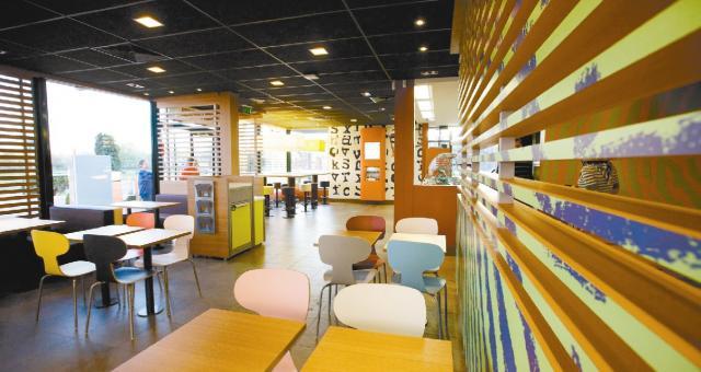W restauracji znajdzie się m.in. McCafe i mini sala gimnastyczna.