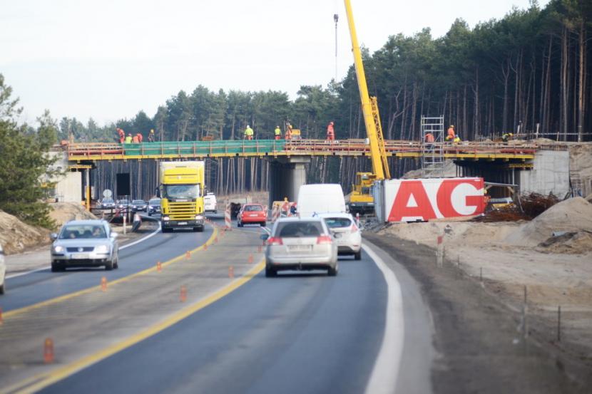 Budowa drugiej nitki S3 Zielona Góra - Sulechów (zdjęcia)