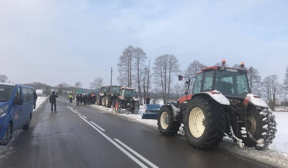 Film do artykułu: Powstanie Chłopskie 2019. Policja chce karać rolników za blokowanie dróg. Wnioski do sądu albo mandaty (zdjęcia)
