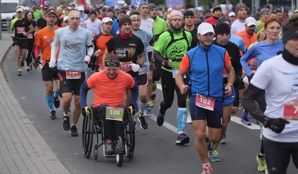 Film do artykułu: 36. Toruń Maraton. Biegliście? Poszukajcie się na zdjęciach!