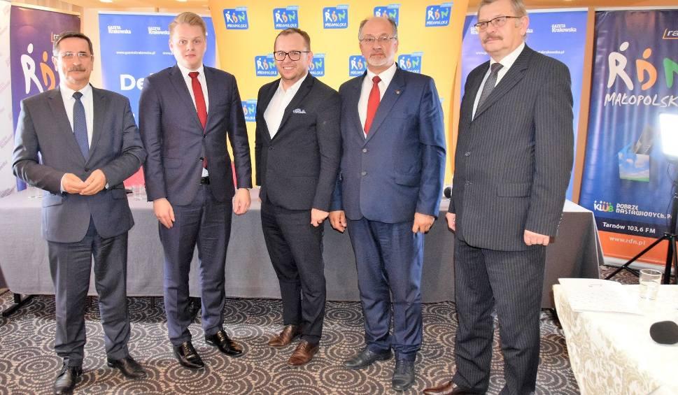 Film do artykułu: Wybory samorządowe 2018. Kandydaci na prezydenta Tarnowa w ogniu pytań podczas przedwyborczej debaty