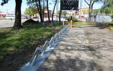 Stacja wypożyczalni rowerów w Myszkowie