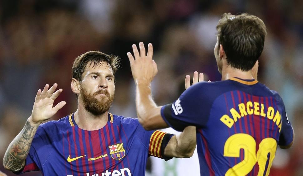 Film do artykułu: Liga hiszpańska. FC Barcelona odpaliła w lidze. Betis poległ w Katalonii