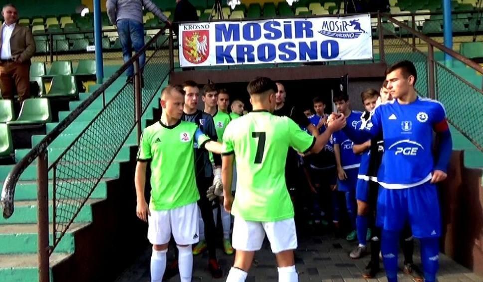 Film do artykułu: Centralna Liga Juniorów. Szymon Dziadosz trafił z Jasła do Krosna. W Karpatach rośnie kolejny talent [WIDEO]