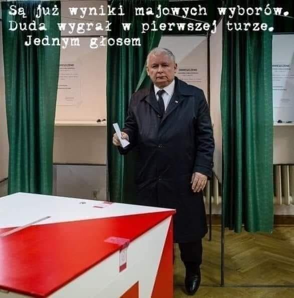 Wybory prezydenckie w czasie pandemii MEMY. Zapraszamy do