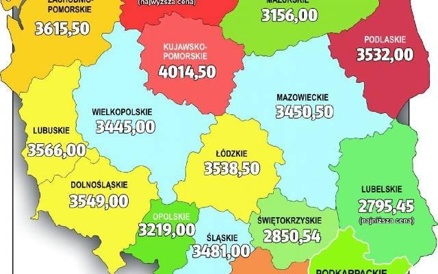 Podkarpacie: ceny mieszkań i warunki zakupu własnego M