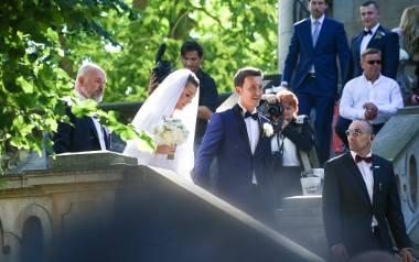 Na ślub Radwańskiej przybyło mnóstwo znanych osób.