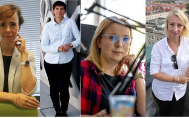 Urszula Wnuszyńska, Karolina Korsan, Katarzyna Stempniak, Dorota Mozyrska - kapitalne kobiety białostockiej Puszczy Krzemowej.