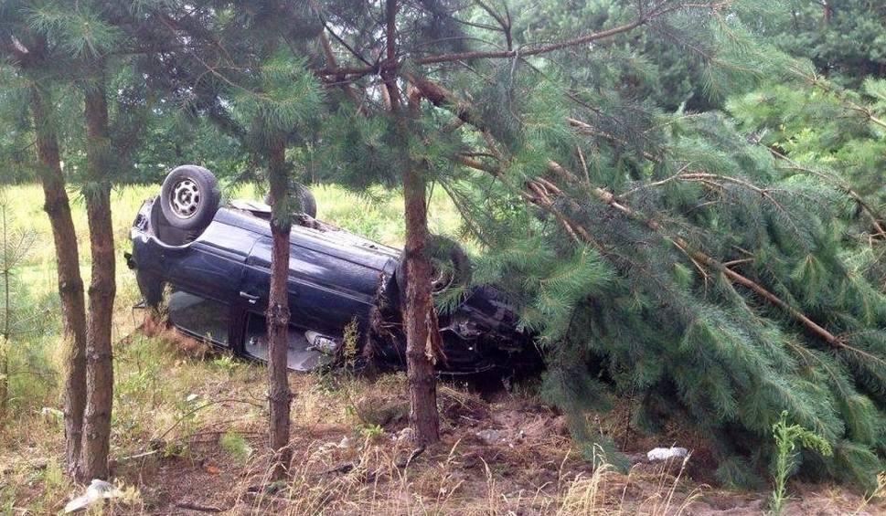 Film do artykułu: Policjanci jechali do wypadku w Zarzeczu, sami mieli wypadek!