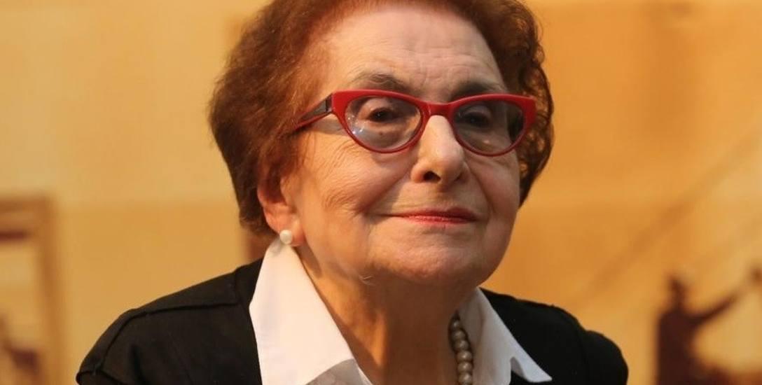 Prof. Dorota Simonides, wybitna folklorystka i wieloletnia senator RP.