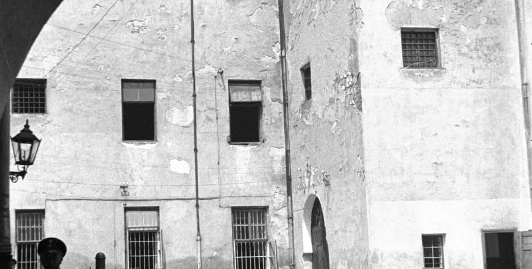 Dziedziniec więzienia św. Michała