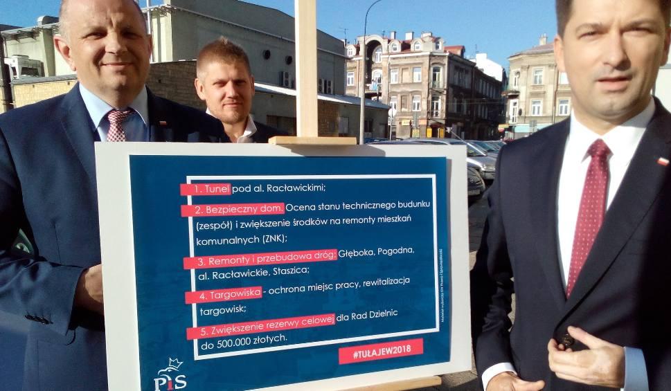 Film do artykułu: Wybory 2018. Sylwester Tułajew mówi o targowiskach i ma nowy plan na przebudowę Al. Racławickich
