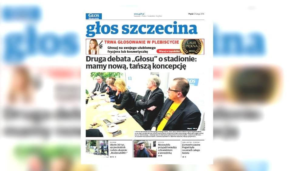 Film do artykułu: W piątek w Głosie Szczecińskim m.in. relacja z drugiej debaty Głosu w sprawie stadionu Pogoni