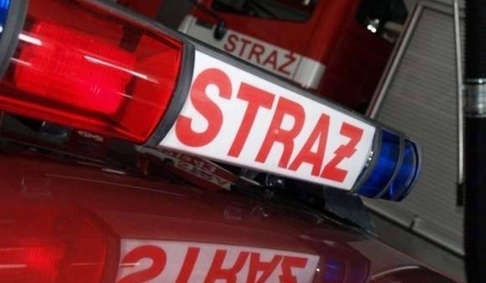 Film do artykułu: Pożar domu w gminie Łączna. Eksplodowała butla z gazem