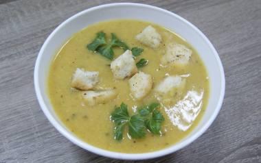 Przepis na zupę z soczewicy od pań z KGW Głodno