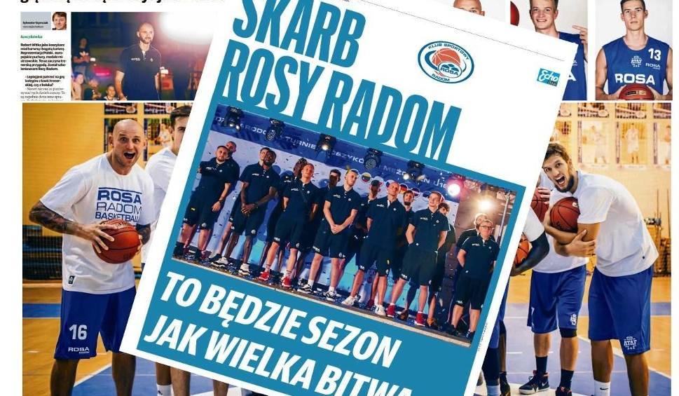Film do artykułu: Już w piątek Skarb Rosy Radom. Wszystko o naszych koszykarzach!