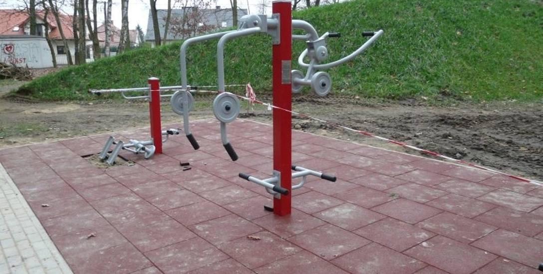 Siłownia dla osób niepełnosprawnych już powstaje w Parku Wolności