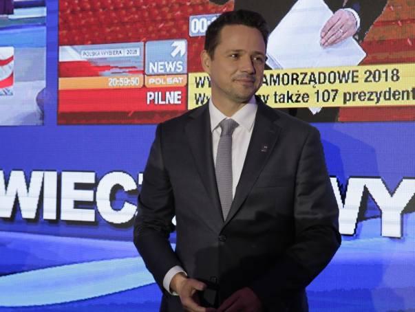 Rafał Trzaskowski wygrał wybory na prezydenta Warszawy w pierwszej turze.