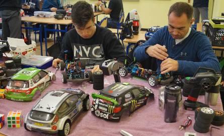Wyścigi replik samochodów rajdowych w Jastrzębiu