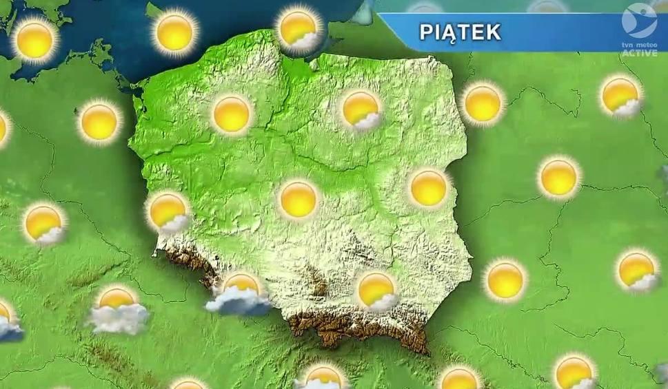 Film do artykułu: Pogoda w Opolu i na Opolszczyźnie. Piątek upalny