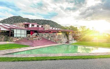 Taliesin West, czyli dom własny architekta Franka Lloyda Wrighta na pustyni w USA