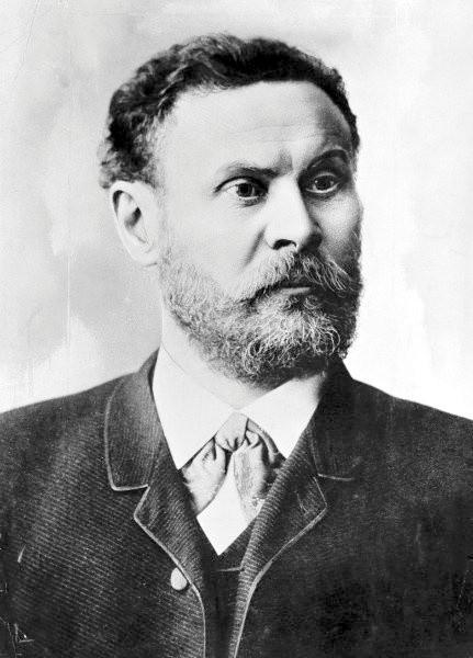 Otto Lilienthal - jeden z pionierów lotnictwa.