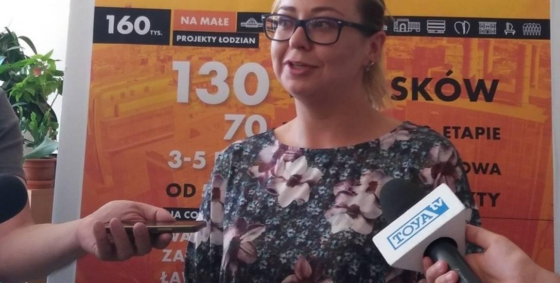 O mikrogrant stara się m.in. Stowarzyszenie Rada Rodziców Centrum Zajęć Pozaszkolnych nr. 1. Na zdjęciu: Karolina Gorąca.