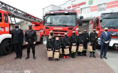 Młodzieżowa Drużyna Pożarnicza OSP Marciszów też liczy na wsparcie