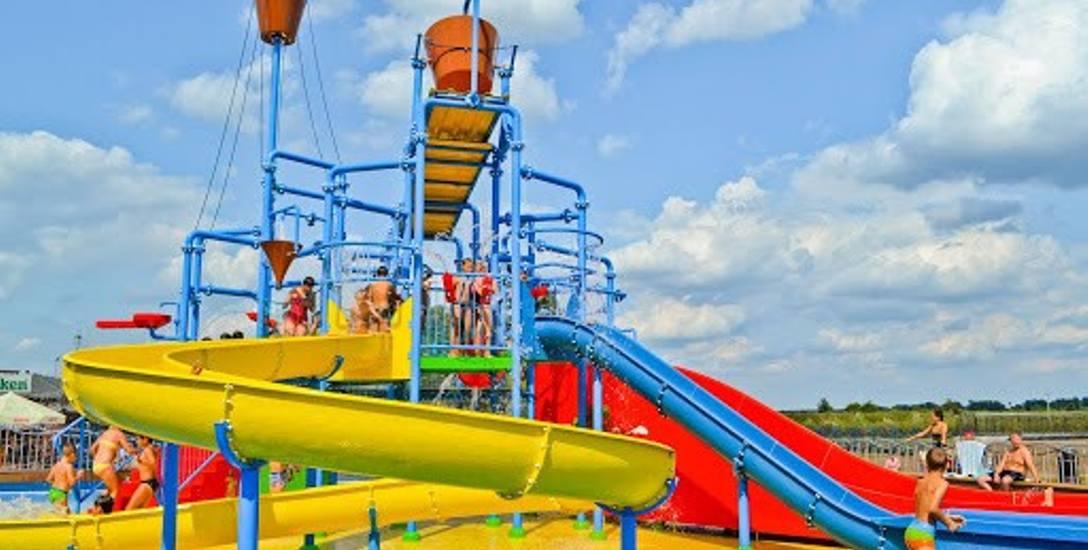Wodny plac zabaw umiejscowiony jest zaledwie 10 min od obietu