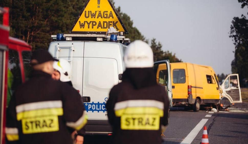 Film do artykułu: Śmiertelny wypadek w Łysomicach. Motocyklista nie żyje
