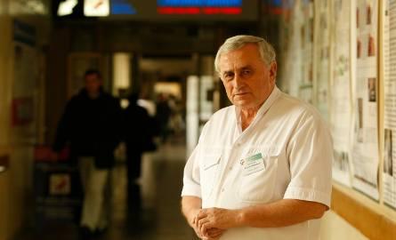 – Bierzemy z pewnością udział w przełomie w medycynie – przyznaje prof. Wojciech Witkiewicz, dyrektor szpitala przy ul. Kamieńskiego we Wrocławiu.