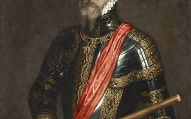 """Ferdynand Álvarez de Toledo, książę Alba, zwany przez Holendrów """"Żelaznym Księciem"""" (1507-1582). Tutaj widzimy go na obrazie wykonanym przez Antonisa"""