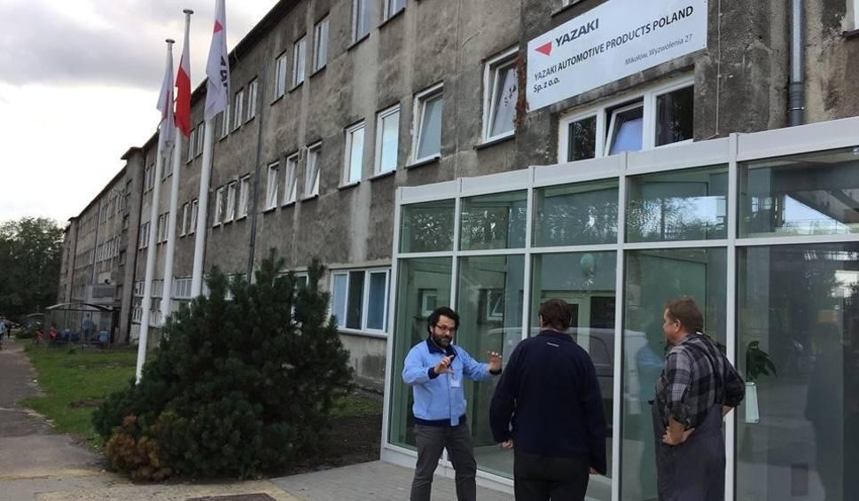 Film do artykułu: Pracownicy spółki Yazaki w Mikołowie chcą więcej zarabiać