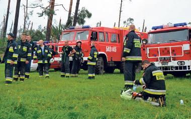 Wyjazdy strażaków ochotników z pomocą tylko... za zgodą