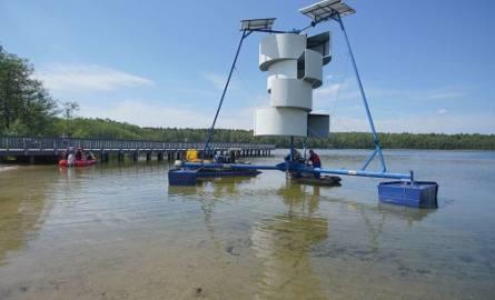 Po modernizacji aerator pulweryzacyjny wrócił we wtorek na Jezioro Strzeszyńskie