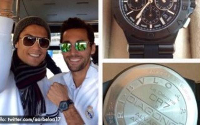 c33e2008a Cristiano Ronaldo podarował kolegom z drużyny zegarki