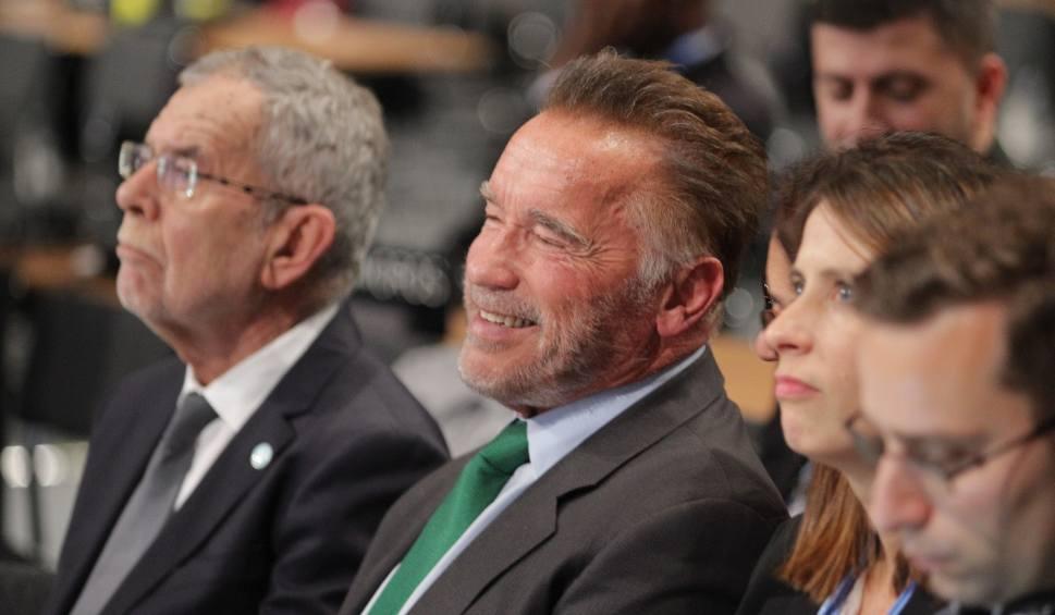 Film do artykułu: Arnold Schwarzenegger w Katowicach chwali auta elektryczne na COP24 ZDJĘCIA + WIDEO