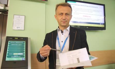 Paweł Szkalej, rzecznik ZUS w Kielcach