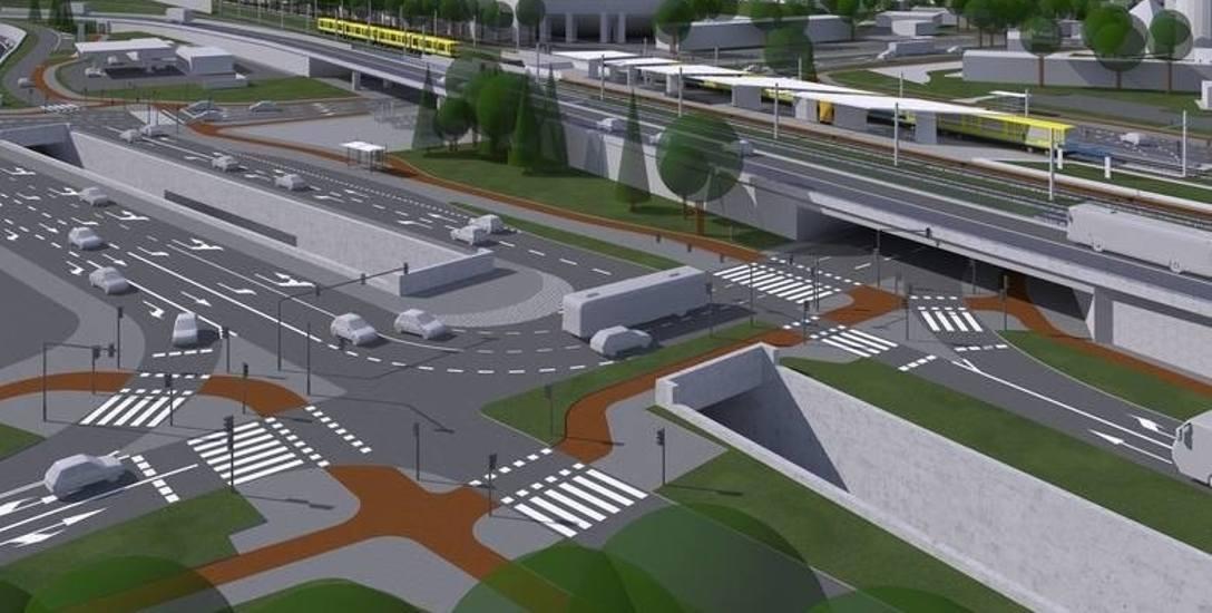 Budowa centrum przesiadkowego Opole Wschodnie zakłada duże zmiany w układzie komunikacyjnym w rejonie stacji.