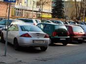 Parking na ulicy Mikołaja Reja