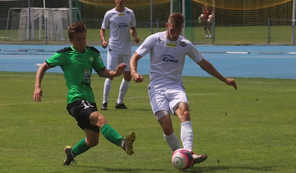 Film do artykułu: Mecz kontrolny: Radomiak Radom - Górnik Łęczna 0:0. Słaba gra zielonych